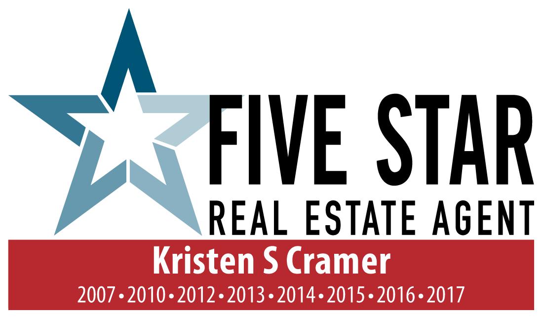 Kristen Cramer Five Star Professional 2017 Award Winner Emblem